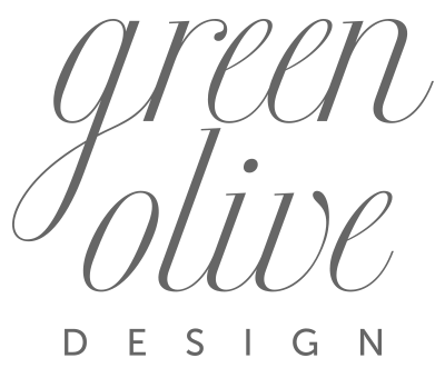 Green Olive Design logo